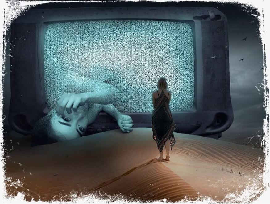 Sonhar com amigo na televisão