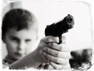sonhar com armas