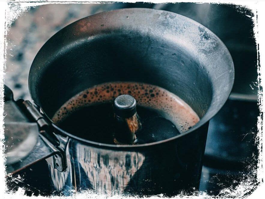 Sonhar fazendo café