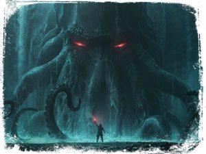 ver monstro gigante em sonho