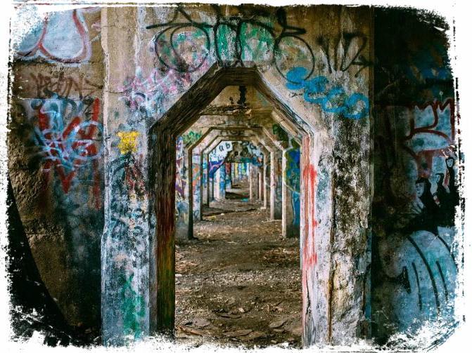 ver parede pichada ou riscada em sonho