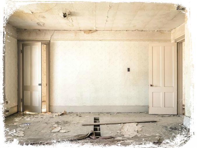 ver parede descascando