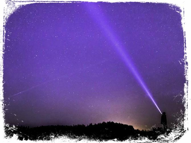ver luz colorida em sonho significado