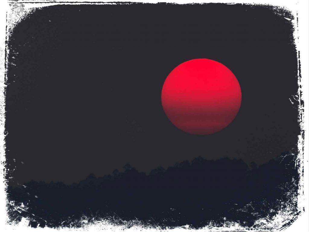 sonhei com eclipse vermelho o que significa