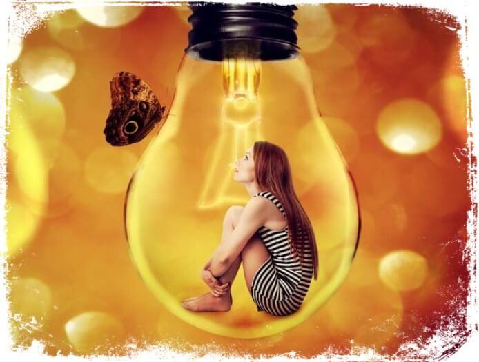 significados e interpretações para sonhar com luz
