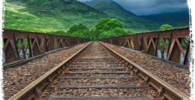 O que significa ver uma linha do trem em sonhos