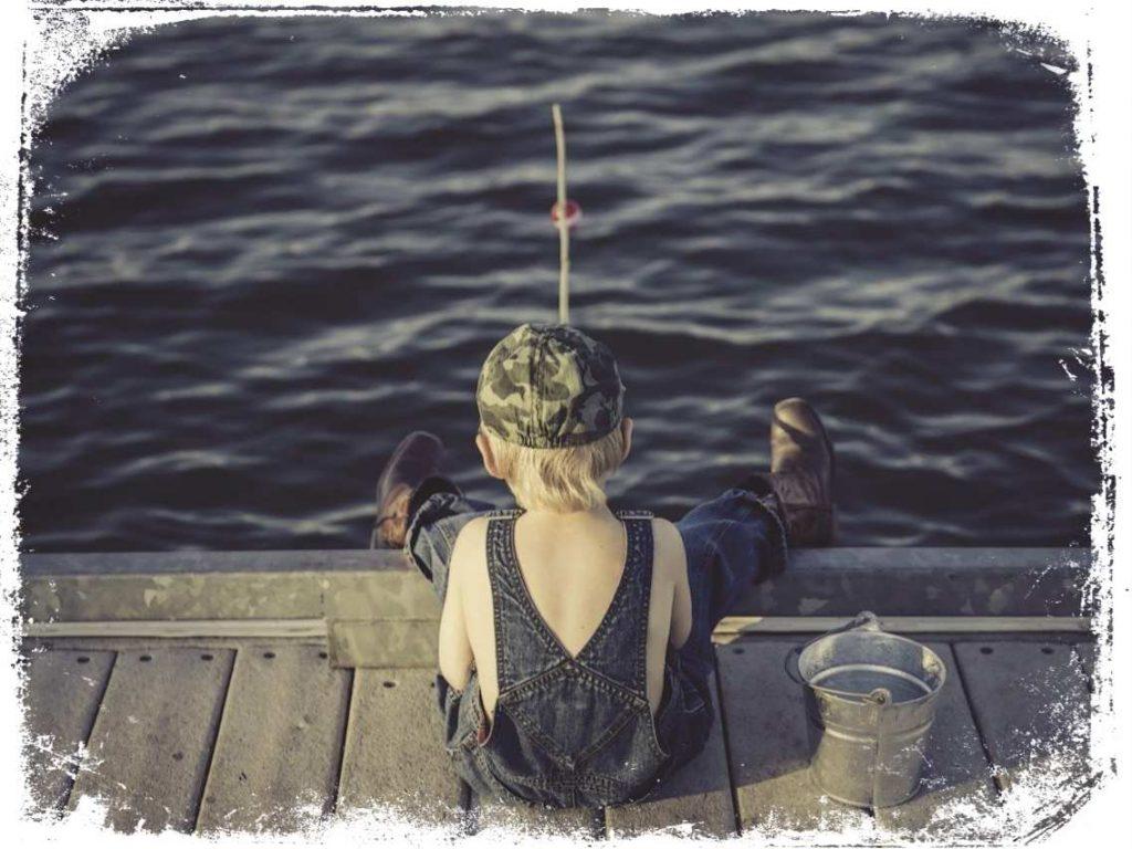sonhar pescando sozinho