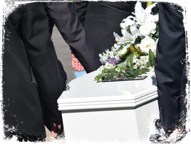 sonhar cantando em funeral