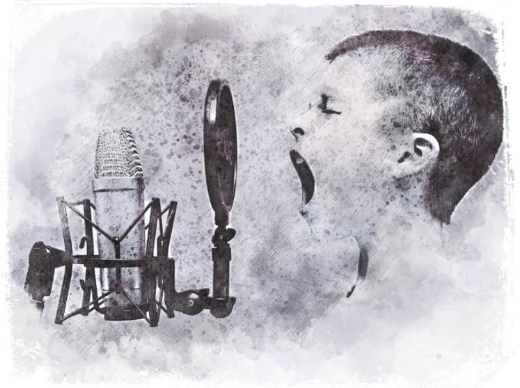 sonhar com criança cantando