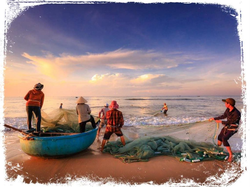 qual significado de ver um grupo de pesca em sonho