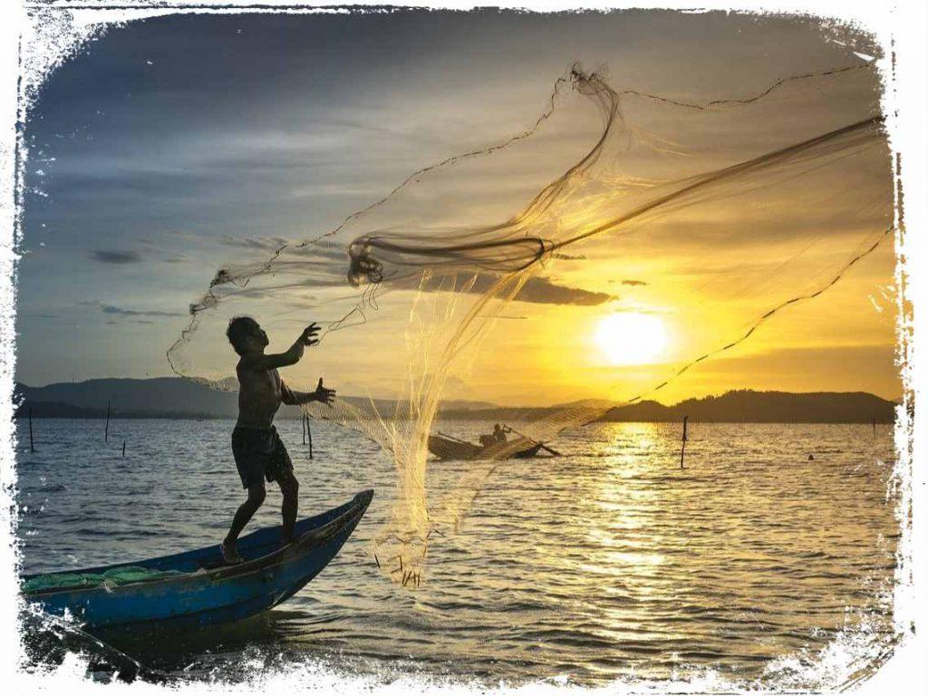 sonhei com rede de pesca o que significa