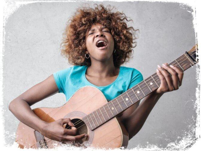 sonhos com cantar