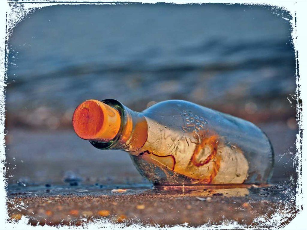 o que significa sonhar com mensagem em garrafa