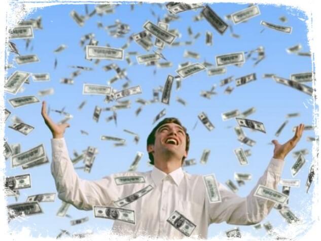 sonhos com dinheiro