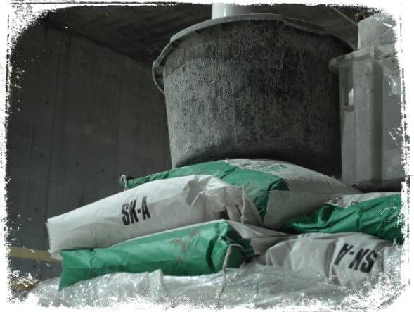 Sonhar com sacos de cimento