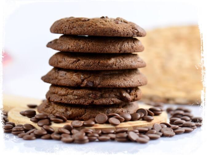 Sonhar com biscoito de chocolate