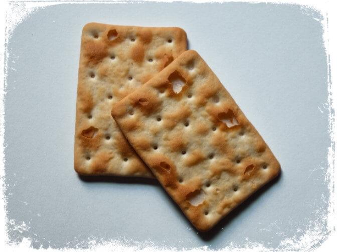 Sonhar com biscoito salgado