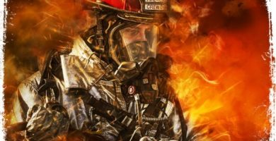 Sonhar com bombeiros apagando incêndio