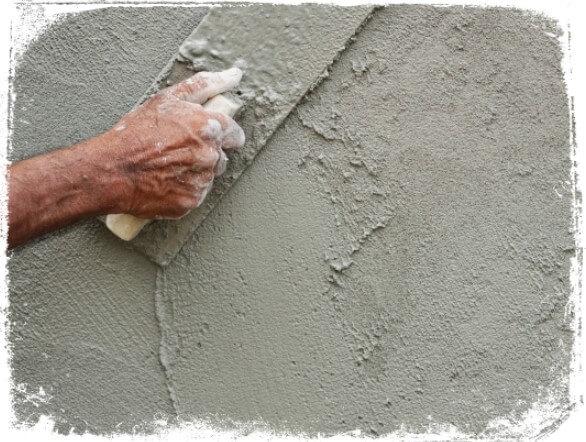 Sonhar com cimento na parede
