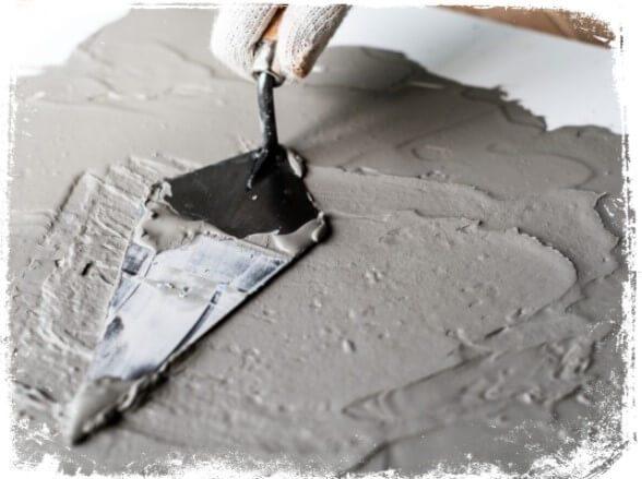 Sonhar com cimento molhado