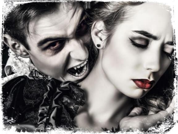Qual é a mensagem de sonhar com vampiro