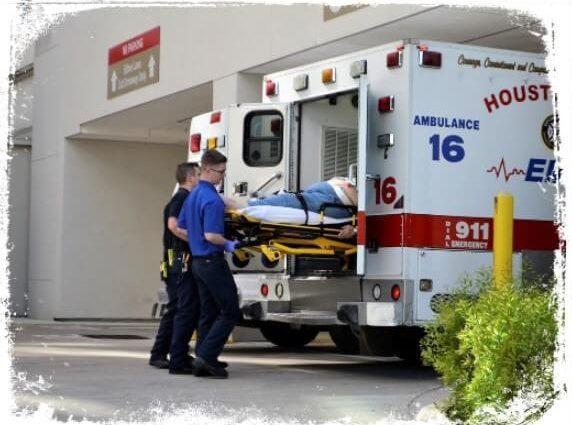 o que quer dizer com ambulância me levando pro hospital em sonho