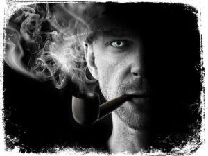 homem fumando cachimbo sonho