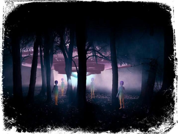 Sonhar com alienígenas em disco voador