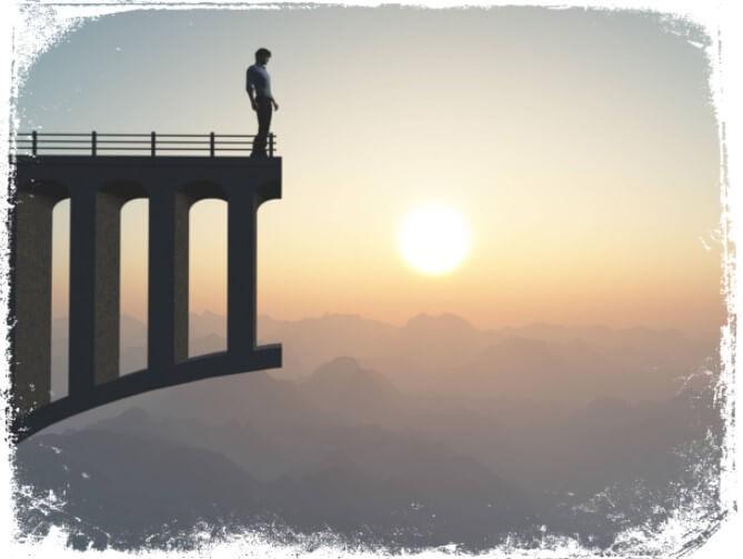 Sonhar com ponte sobre o abismo