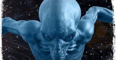 Alienígena magro sonho