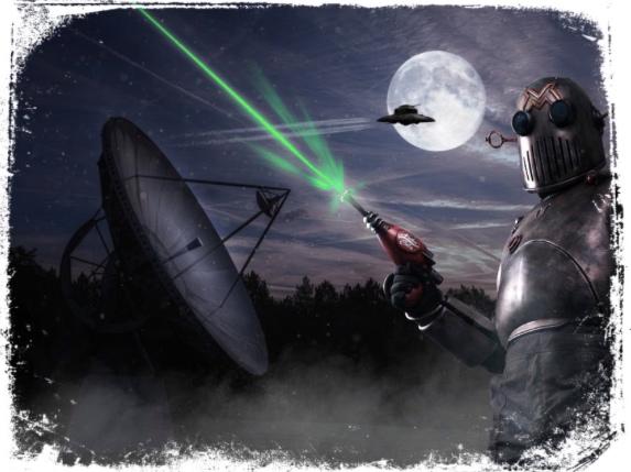 Guerra alienígena em sonho