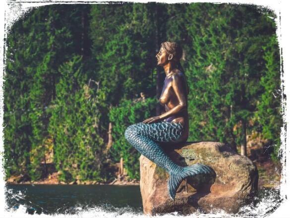 sonhar com estatua de sereia