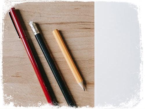 Significado de sonhar com caneta e lápis