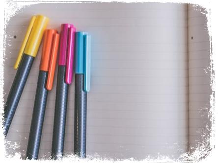 Qual o significado de sonhar com canetas coloridas