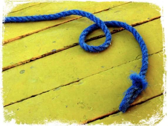 Significado de sonhar com corda azul