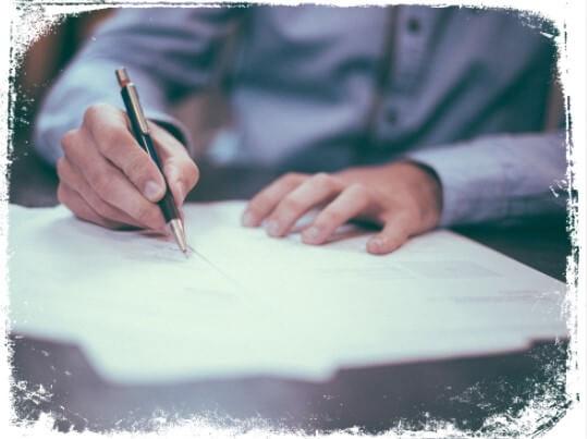 Sonhar escrevendo um documento