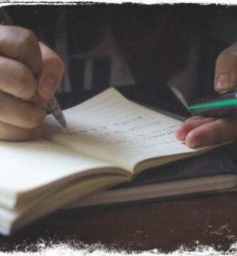 Sonhar que está escrevendo com uma caneta