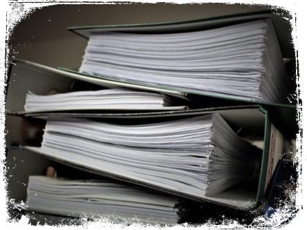O que significa sonhar com pilha de documentos