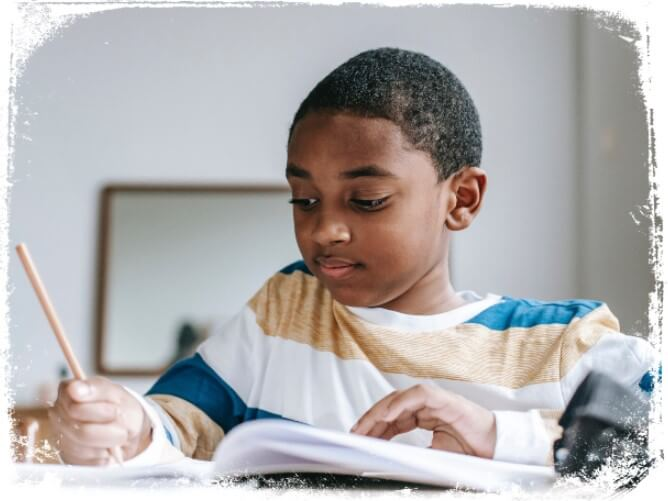 Sonhar escrevendo à mão