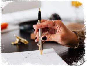 O que significa sonhar com canetas