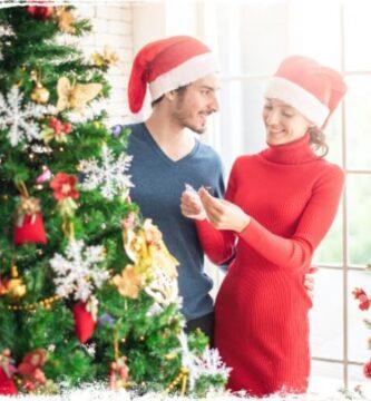 Sonhar vendo uma árvore de Natal