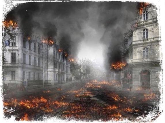 Qual o significado de sonhar com apocalipse de fogo