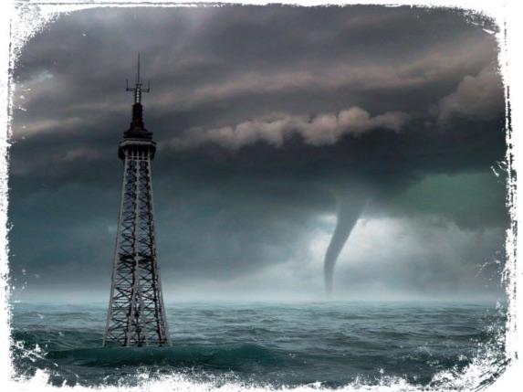 O que significa sonhar com apocalipse de tufão