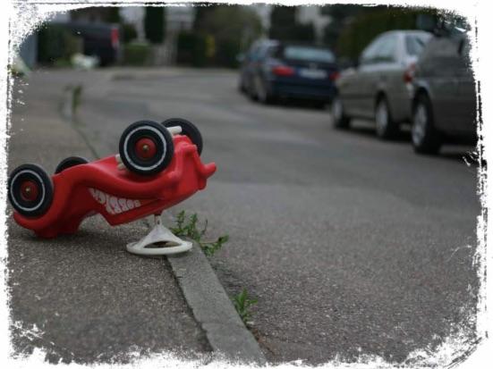 O que significa sonhar com capotamento de carro vermelho