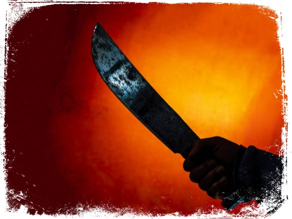 O que significa facão enferrujado em sonho