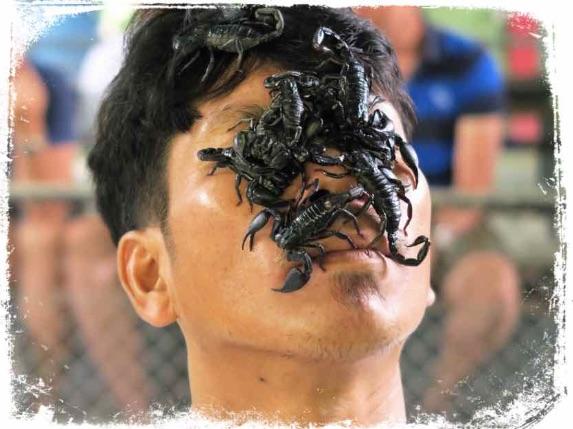 Significado de sonhar com escorpião saindo da boca