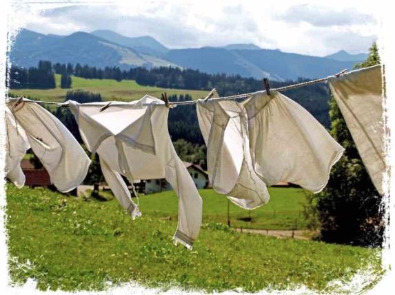 Significado de sonhar com roupas voando no varal