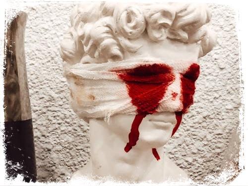 Significado de sonhar com sangue nos olhos
