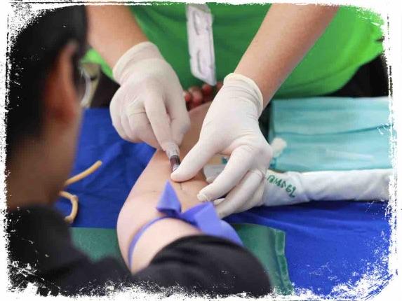 O que significa fazer exame de sangue em sonho