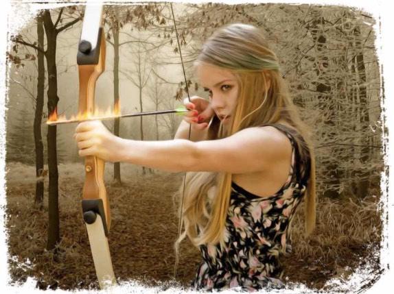 O que significa sonhar com flecha de fogo